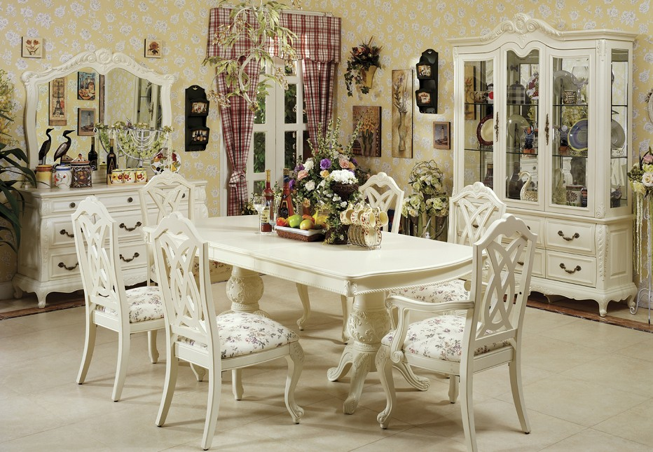 Awesome Off White Wood Dining Chairs White Dining Room Furniture Furniture Design Ideas