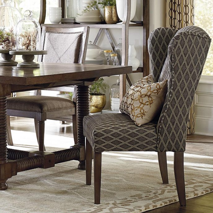 Awesome Parsons Dining Chairs With Arms Dining Room Printed Dining Chairs Upholstered Dining Chairs With
