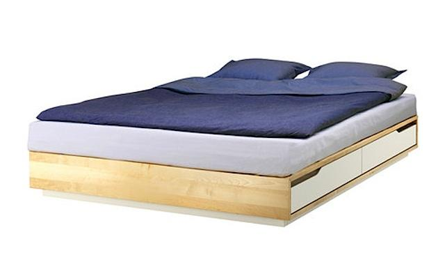 Awesome Platform Bed Frame Queen Ikea Platform Bed Frame Ikea Popular On Full Size Bed Frame On King
