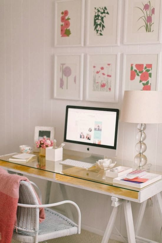 Awesome Pretty Home Office Furniture 30 Delightful Feminine Home Office Furniture Ideas Digsdigs