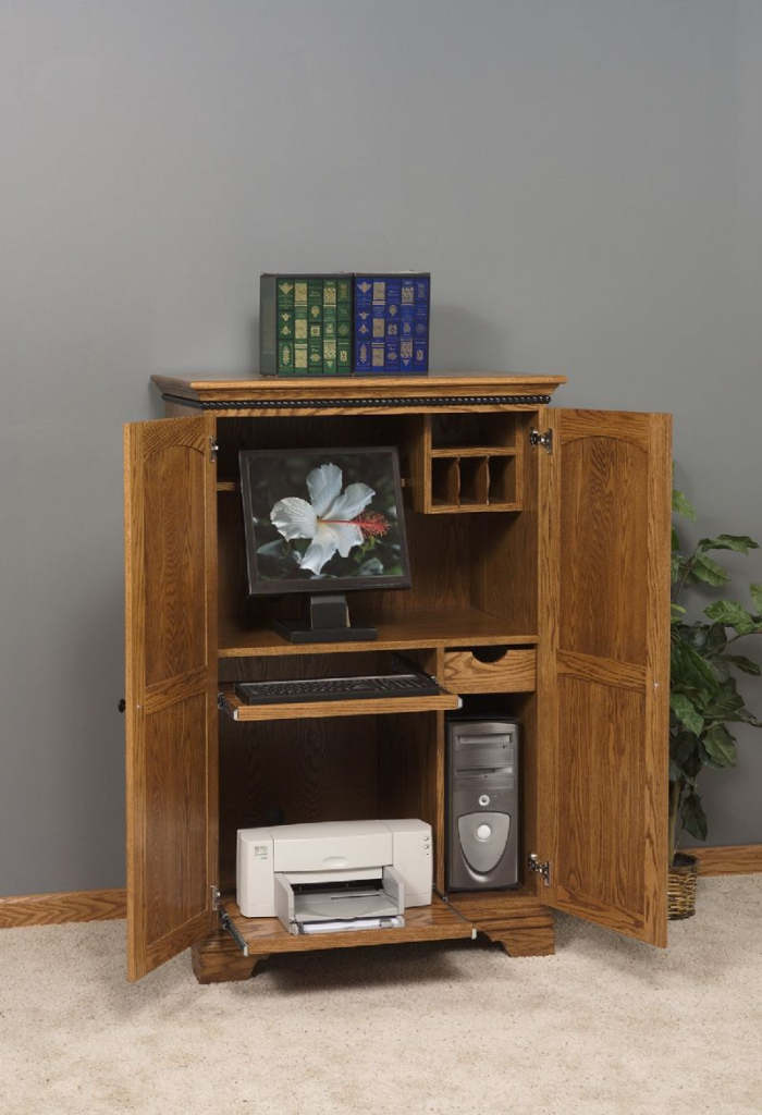 Awesome Pretty Home Office Furniture Furniture Pretty Computer Armoire For Home Office Furniture Ideas