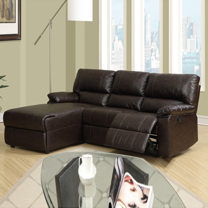 Awesome Reclining Couch With Chaise Living Room Amazing Collection In Small Leather Sectional Sofa