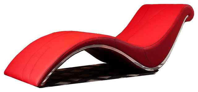 Awesome Red Leather Chaise Lounge Incredible Red Chaise Lounge Modern Red Leather Chaise Lounge