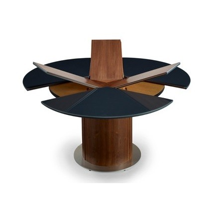 Awesome Round Extendable Dining Table Skov Sm32 Round Extending Dining Table Gillies