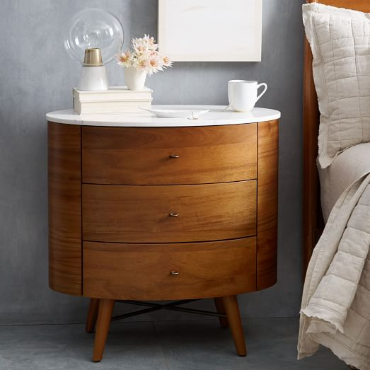 Awesome Small 3 Drawer Nightstand 3 Drawer Nightstands Sanblasferry
