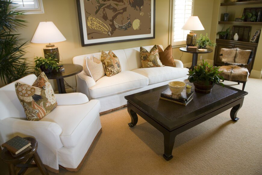 Awesome Small Armchairs For Living Room 24 Awesome Living Room Designs With End Tables
