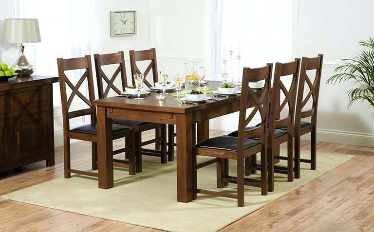 Awesome Small Dark Wood Dining Table Dark Wood Dining Table Round Small Cream Leather Chairs Bench