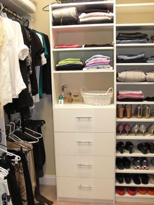 Awesome Small Walk In Closet Organization Ideas Best 25 Walk In Closet Organization Ideas Ideas On Pinterest