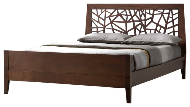 Awesome Solid King Bed Frame Jennifer Tree Branch Inspired Solid Wood Bed Frame Contemporary