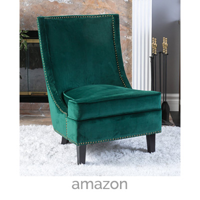 Awesome Teal Velvet Accent Chair Geneva Velvet Accent Chair Myhome Apartment