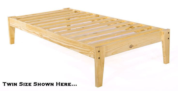 Awesome Twin Platform Bed Frame Platform Twin Bed Frame Twin Xl Pine Wood Platform Bed Frame