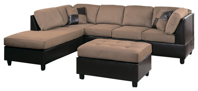 Awesome Two Piece Sofa Set 9909br Homelegance Comfort Living 2 Piece Two Tone Living Room Set