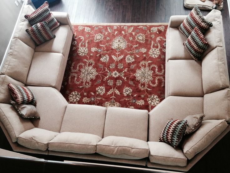 Awesome U Shaped Sectional Couch Best 25 Sectional Sofa Layout Ideas On Pinterest Coffee Table