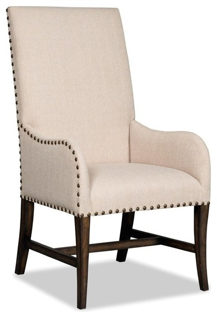 Awesome Upholstered Dining Chairs With Arms Hooker Niche Desert Upholstered Dining Arm Chair Davalle