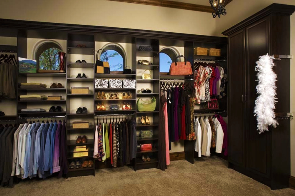 Awesome Walk In Closet Organizer Systems Custom Closet Organizers Systems Design Tailored Living