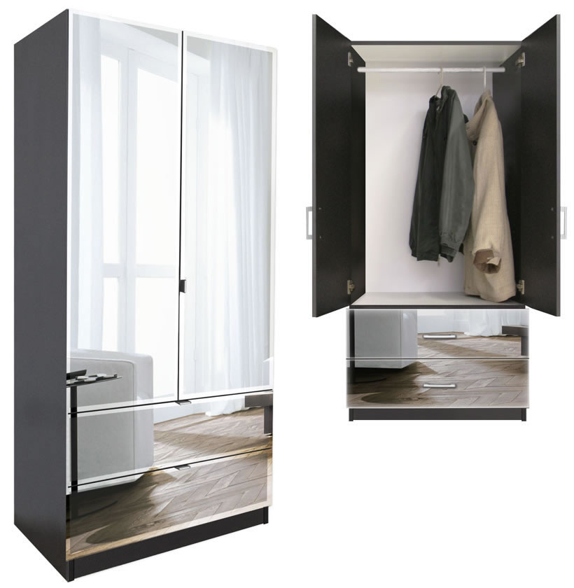 Awesome Wardrobe Armoire For Hanging Clothes Armoire With Closet Rod Thesecretconsul