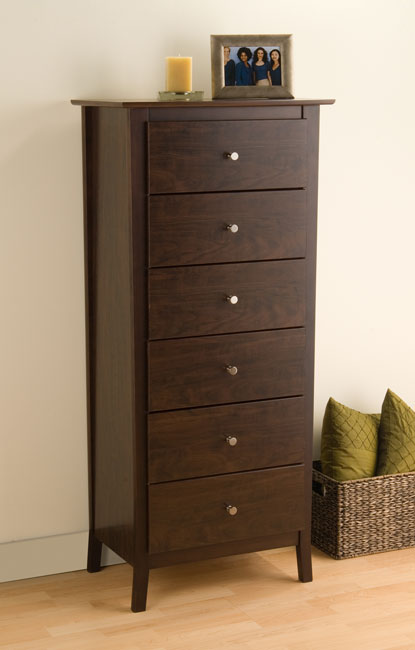 Awesome White 6 Drawer Tall Dresser Everett Espresso 6 Drawer Tall Chest Free Shipping Today