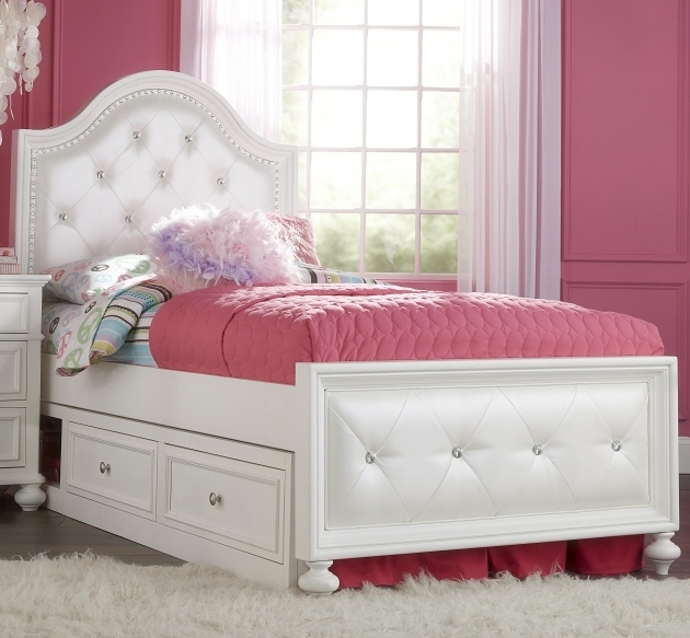Awesome White Full Size Headboard And Footboard Perfect Queen Set 12 In