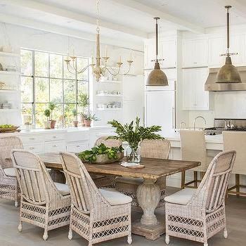 Awesome White Kitchen Dining Chairs Best 25 Wicker Dining Chairs Ideas On Pinterest World Market