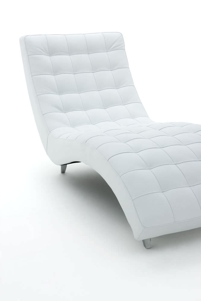 Awesome White Leather Chaise Lounge Contemporary Chaise Longue Fabric Leather Ginger Alberta