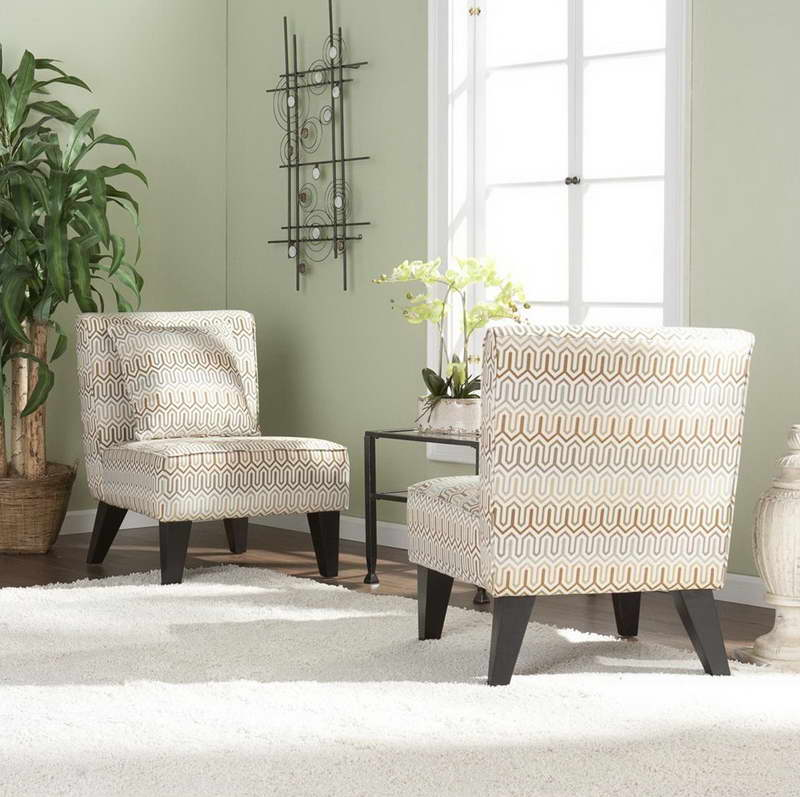 Awesome White Living Room Chairs Modern White Accent Living Room Chairs Ideas 12 Howiezine