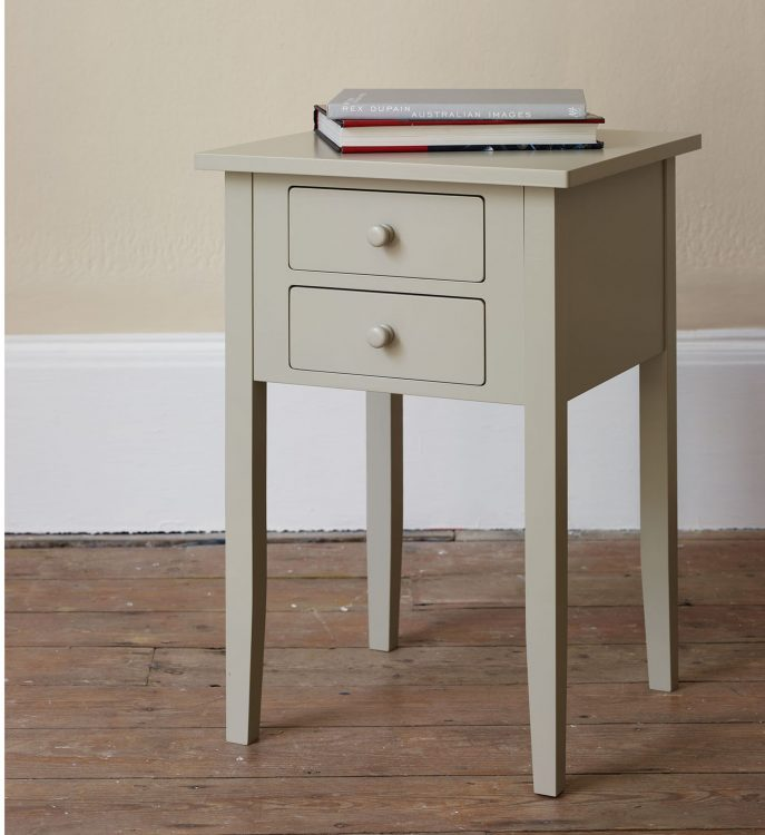 Awesome White Nightstand With Wood Top Bedroom Nightstand White Nightstand With Wood Top Dresser Brown