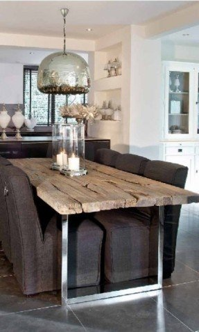 Awesome Wood And Glass Dining Table Designs Glass Top Dining Tables With Wood Base Foter
