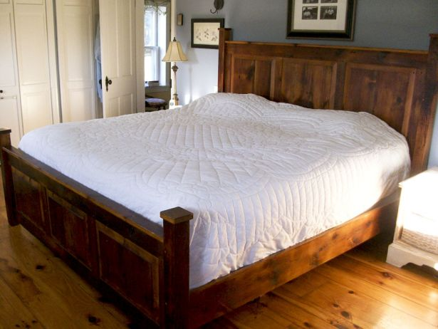 Awesome Wood Bed Headboards And Footboards Fancy King Size Headboard Footboard Set 23 For Tufted Headboard