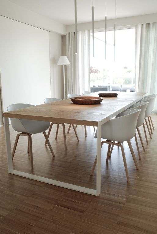 Awesome Wood Modern Dining Table Best 25 Modern Dining Table Ideas On Pinterest Dining Room