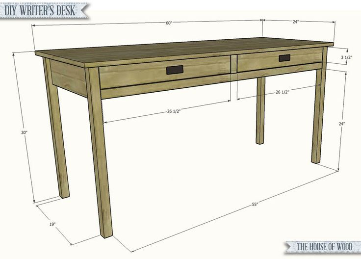 Awesome Writing Desk Plans Best 25 Desk Plans Ideas On Pinterest Build A Desk Diy Desk