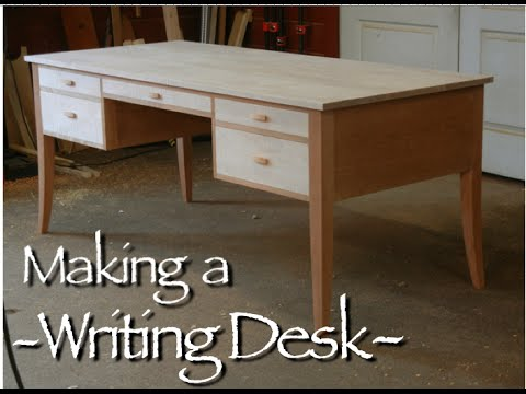 Awesome Writing Desk Plans Writing Desk Building Process Doucette And Wolfe Furniture