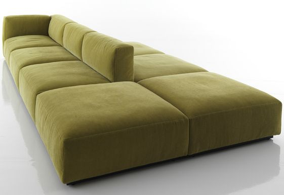 Beautiful 2 Sided Chaise Lounge Mex Cube From Cassina Double Sided Sofas Pinterest Living