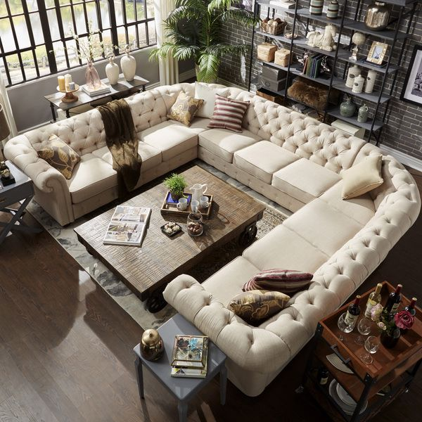 Beautiful 6 Person Sectional Sofa Best 25 U Shaped Sectional Sofa Ideas On Pinterest U Shaped