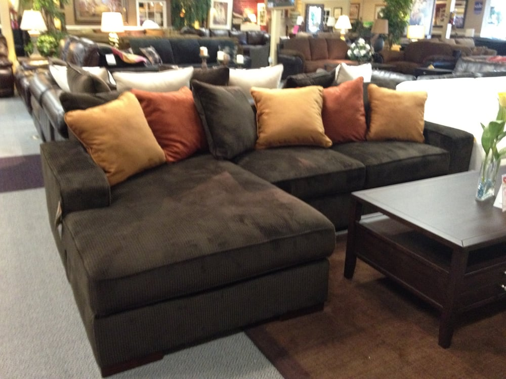 Beautiful Ashley Corduroy Sectional Sofa Ashley Chocolate Corduroy Sectional Sofa Starting At Only 899