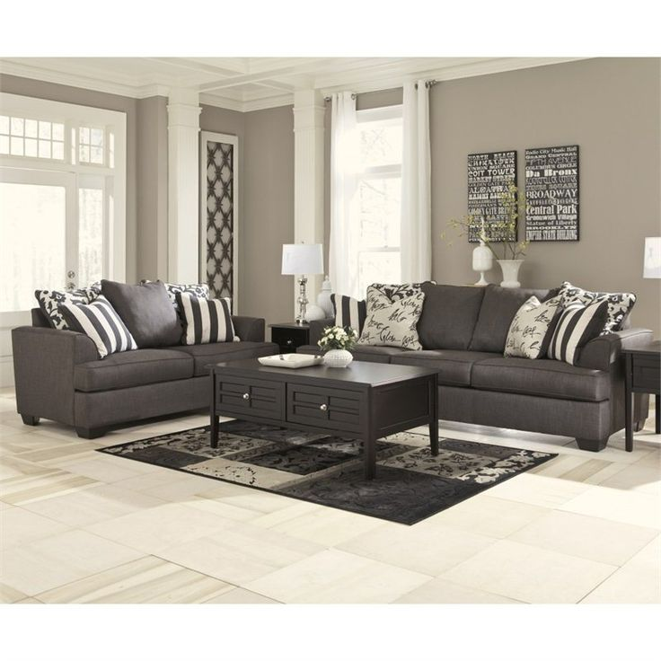Beautiful Ashley Furniture Black Leather Couch Signature Design Ashley Furniture Levon 2 Piece Sofa Set In