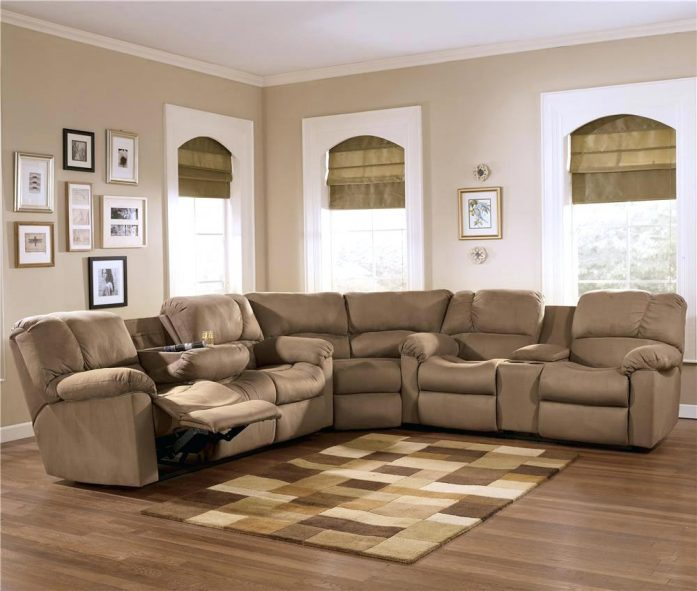 Beautiful Ashley Furniture Reclining Sectional Recliners Superb Sectional Couch Recliner For Home Furniture