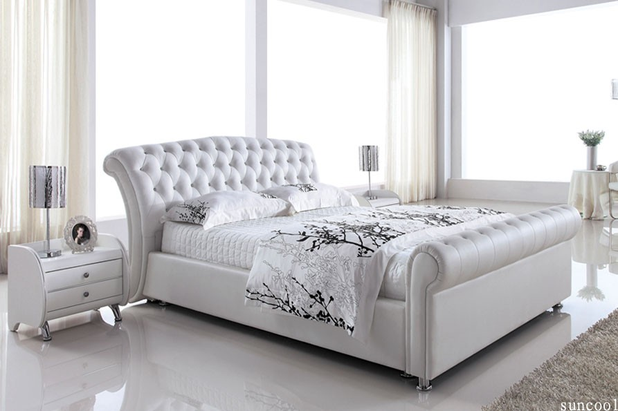 Beautiful Bed Frames For Queen Size Beds Leather White Queen Size Bed Frame Platinum High Bedendclassic