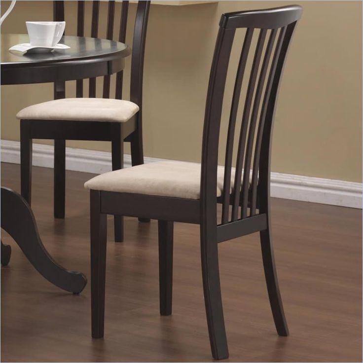 Beautiful Black Dining Chairs With Upholstered Seats 23 Best Dining Room Chairs Images On Pinterest Dining Rooms