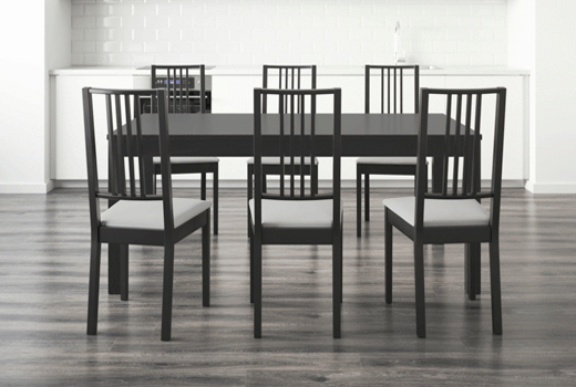 Beautiful Black Dining Room Chairs Ikea Innovative Astonishing Dining Room Chairs Ikea Dining Room Sets