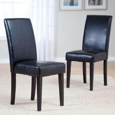 Beautiful Black Kitchen Chairs Admirable Leather Kitchen Chair For Your Furniture Chairs With