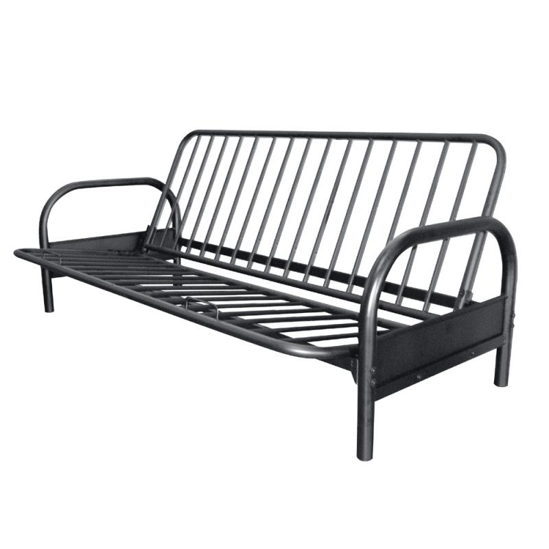 Beautiful Black Wood Futon Frame Futon Frame Materials Futon Information