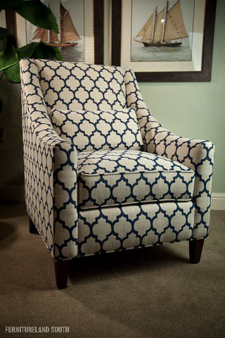 Beautiful Blue And Gray Accent Chairs Blue And White Accent Chair Coredesign Interiors