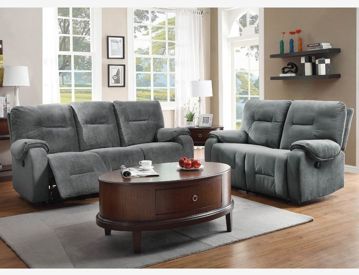Beautiful Charcoal Grey Sofa And Loveseat Blue Grey Microfiber Power Reclining Sofa Couch Loveseat Motion