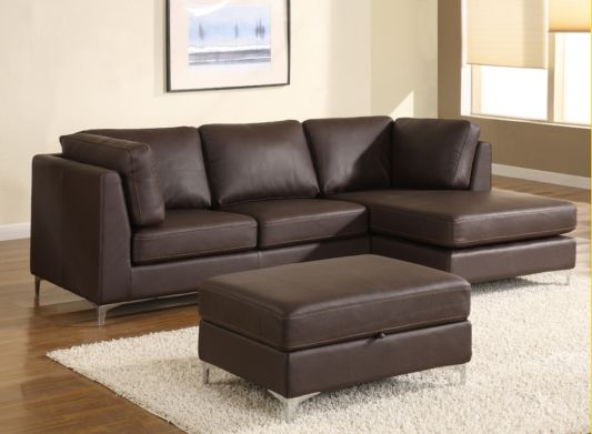 Beautiful Chocolate Brown Leather Sofa Modern Classic Leather Sofa ...