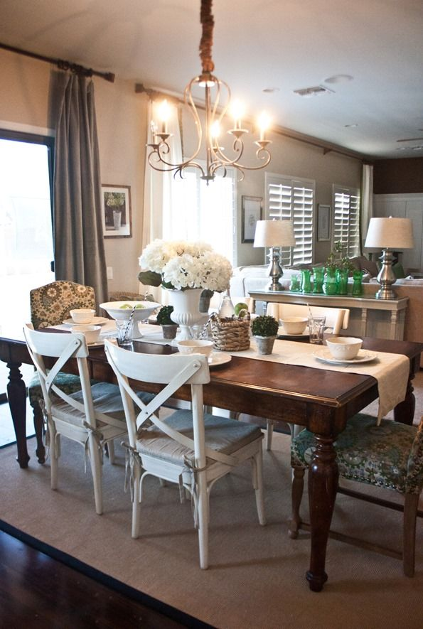 Beautiful Colored Wood Dining Chairs 119 Best Dining Room Ideas Images On Pinterest Cottage Dining