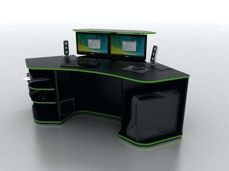 Beautiful Computer Gaming Station Desk Computer Desk Gaming Station Custom Gaming Computer Desk