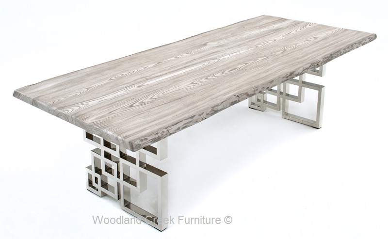 Beautiful Contemporary Dining Table Bases Dining Table With Modern Geometric Base Contemporary