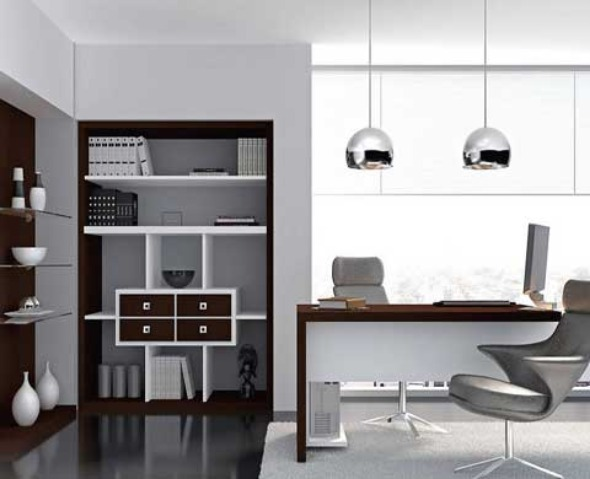 Beautiful Contemporary Home Office Contemporary Home Office Design Home Interior Design