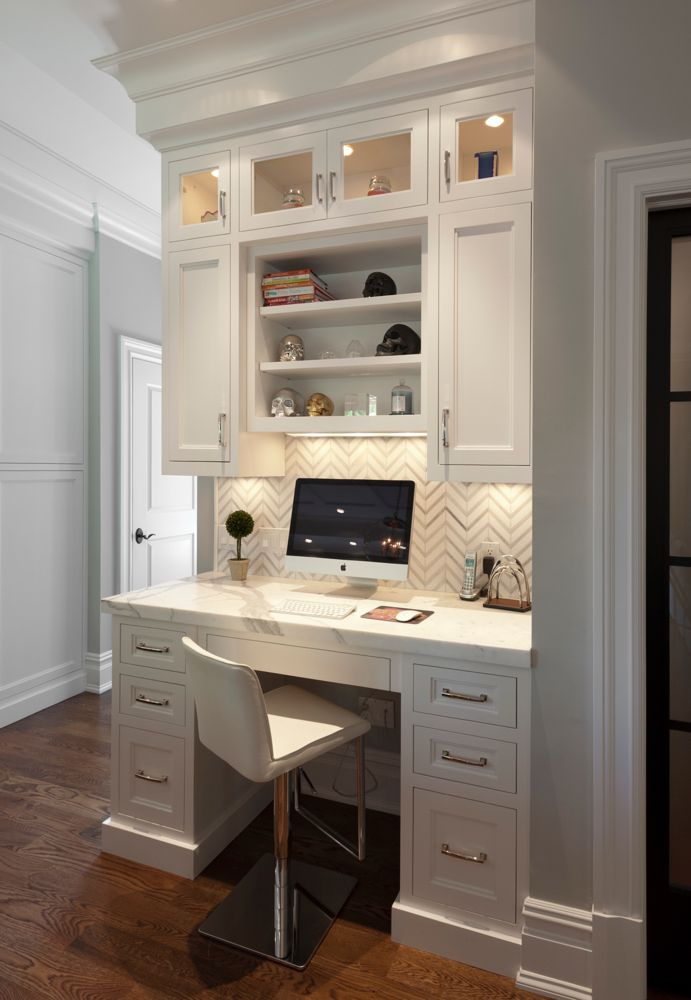 Beautiful Custom Built In Desk Ideas Best 25 Built In Desk Ideas On Pinterest Small Home Office Desk