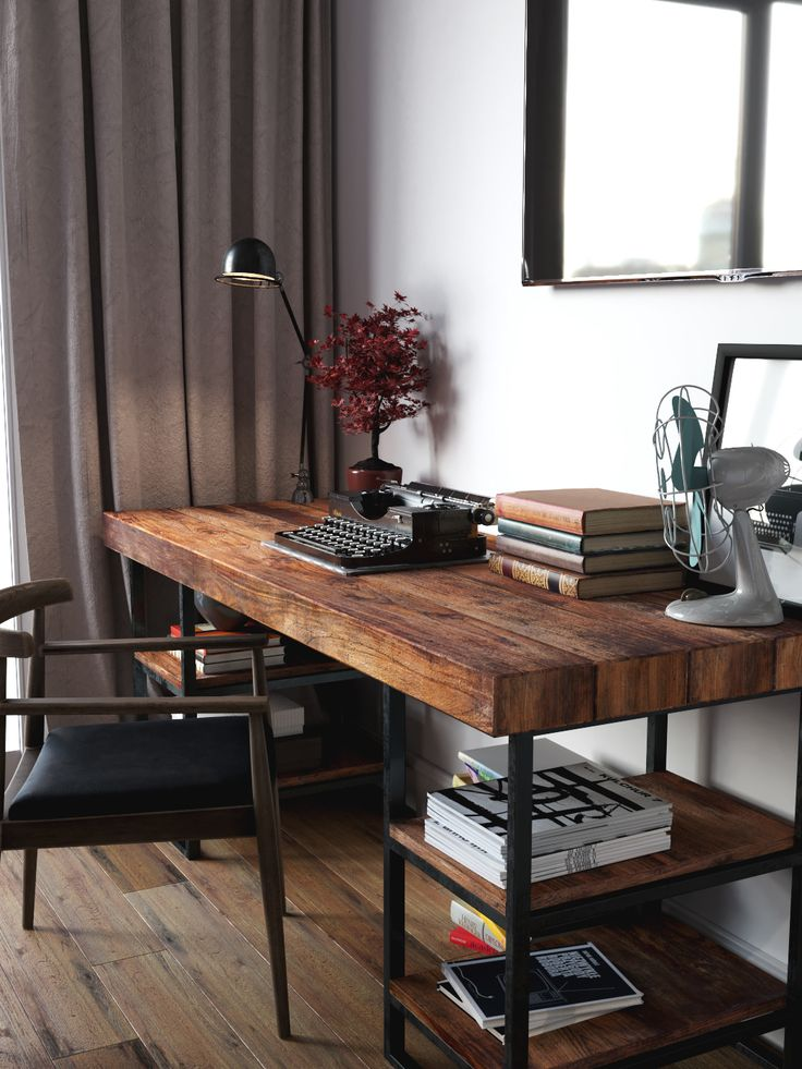 Beautiful Dark Wood Desks For Home Office Best 25 Wooden Desk Ideas On Pinterest Diy Wooden Desk Office
